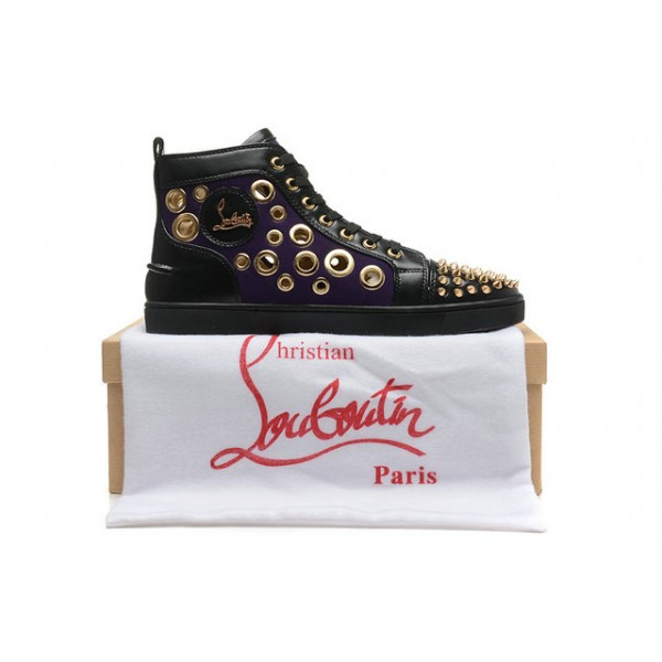 louboutin basket homme rouge