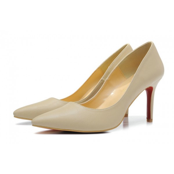louboutin pigalle beige prix