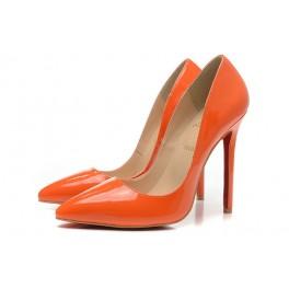Nouvelles Escarpins Christian Louboutin 120mm So Kate Vernis Orange