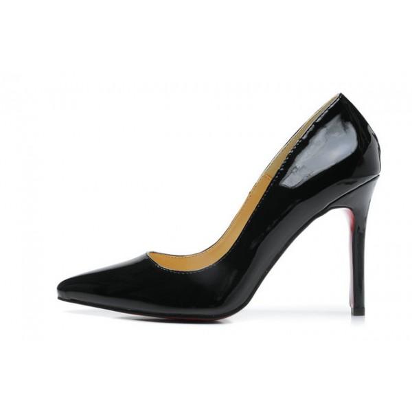 escarpins noirs louboutin prix réduit