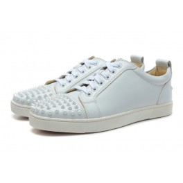 chaussure louboutin homme blanche