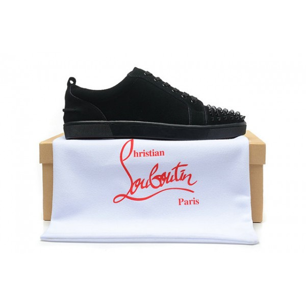 louboutin baskets noir