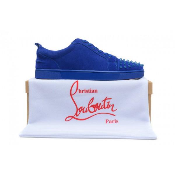 louboutin basket bleu