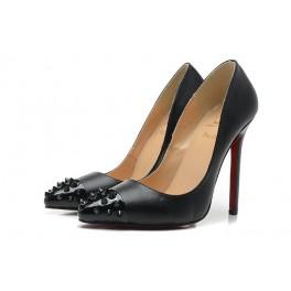 Christian Louboutin  Escarpins de Femme 120mm Cuir Noir Spikes
