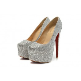 Christian Louboutin Daffodile Strass 160mm Argent