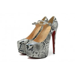 Christian Louboutin Mary Jane Pompe 160mm Plates-formes Roccia