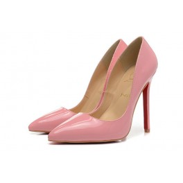 Nouvelles Escarpins Christian Louboutin 120mm So Kate Vernis Rose