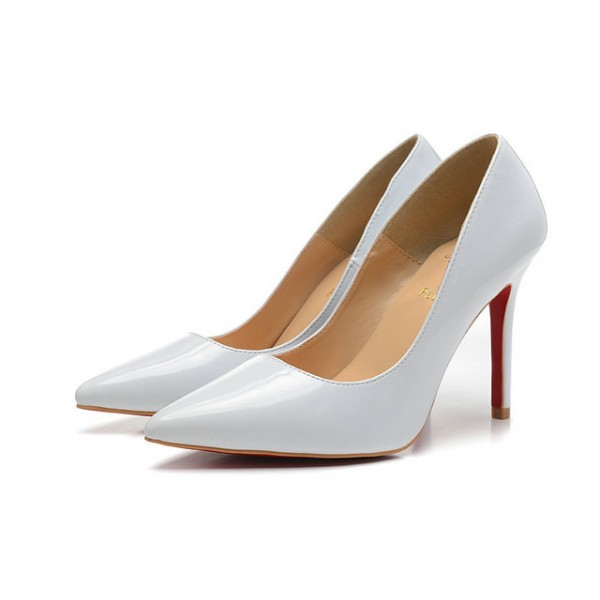 louboutin pigalle blanc