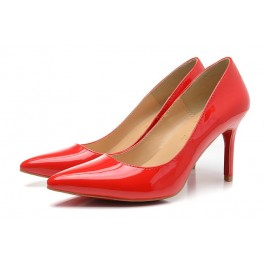 Sexy Chaussures Christian Louboutin 80mm pigalle vernis rouge